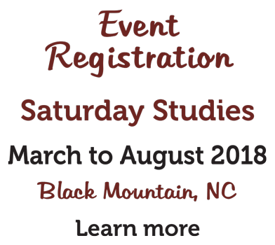 Register now for Saturday Studies